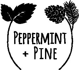 Peppermint + Pine logo