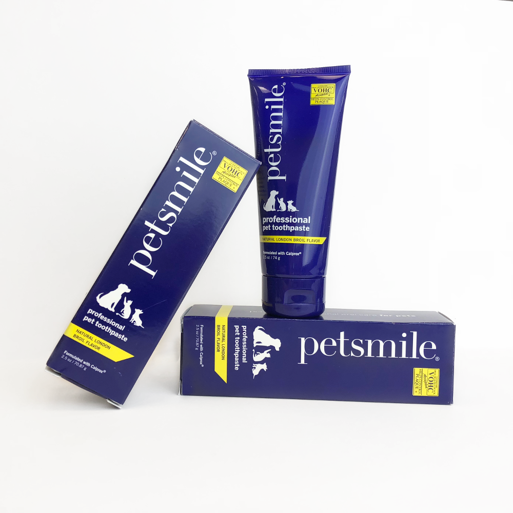 petsmile toothpaste, tubes, toothpaste for dogs, toothpaste for cats
