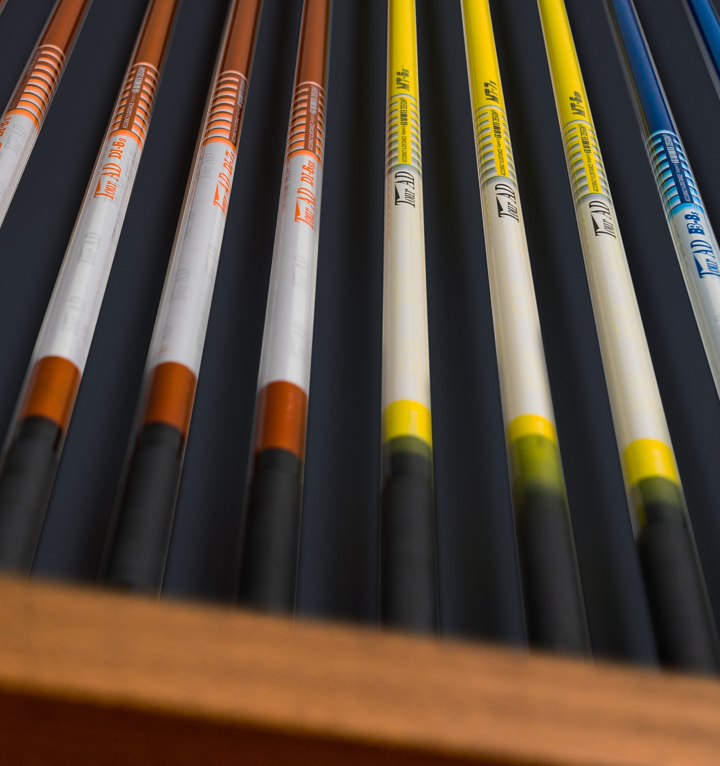 Tour Shafts are available at U Golf