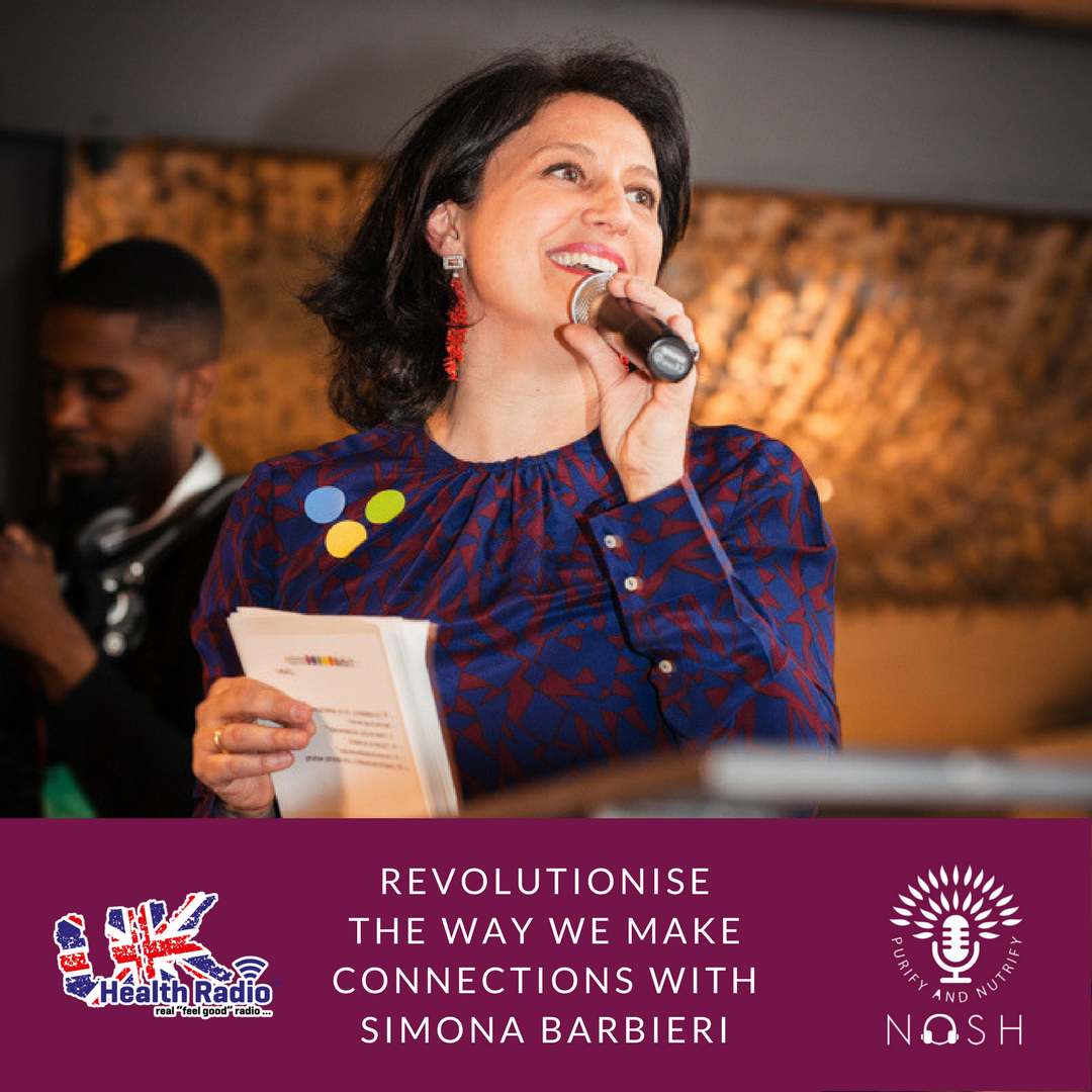 REVOLUTIONISE THE WAY WE MAKE CONNECTIONS WITH SIMONA BARBIERI.