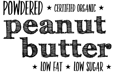 Certified Organic Powdered Peanut Butter