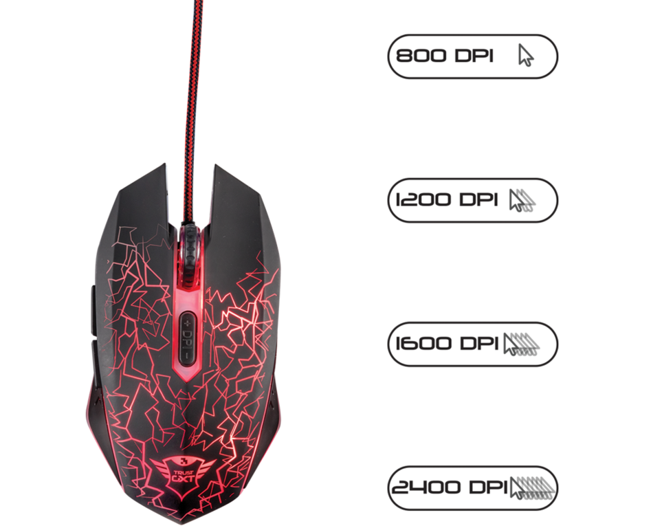 e1b124d8ffb TRUST GXT 105 GAMING MOUSE– Wireless Phones