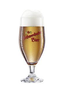 Bierglas Schwechater Bier