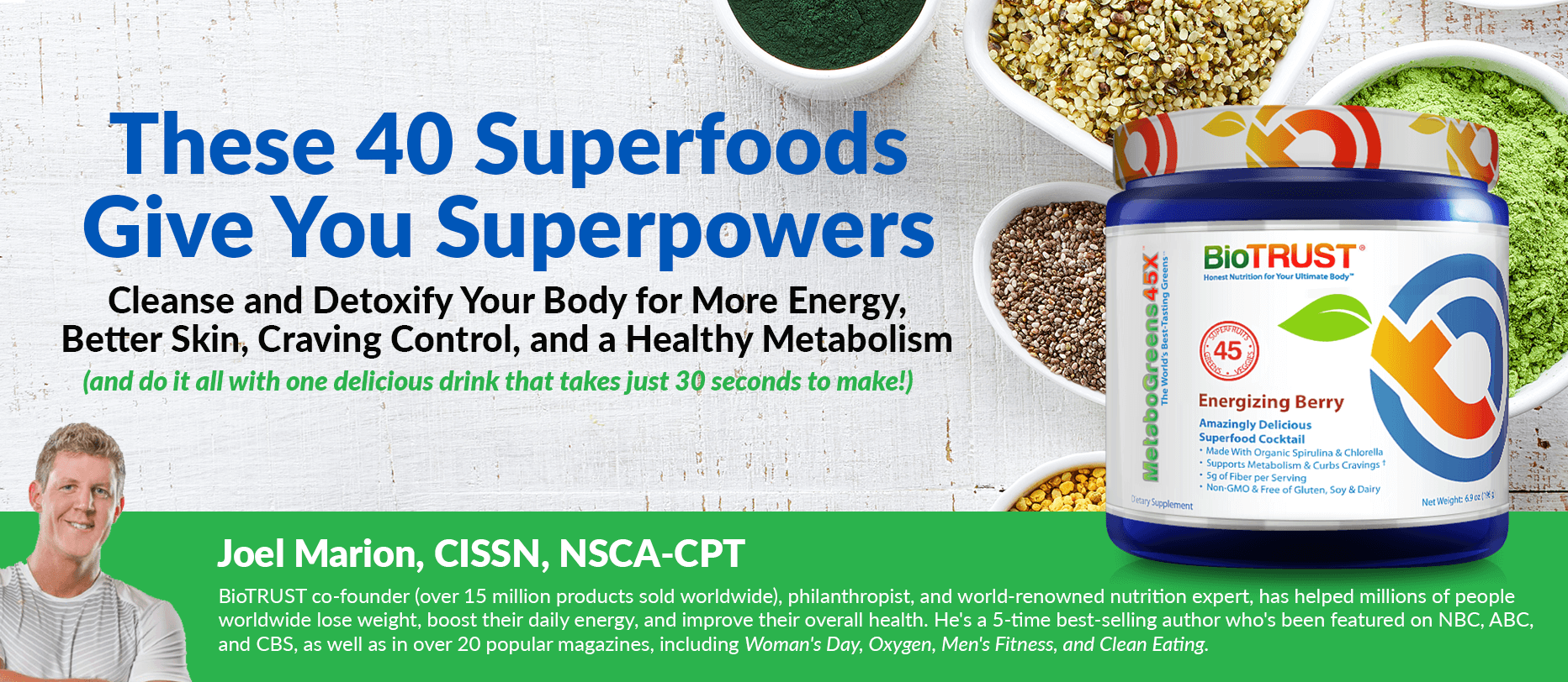 These 40 Superfoods Give You Superpowers