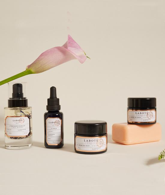 Soins peau - Composants végétaux
