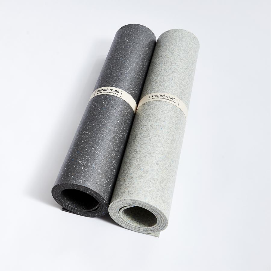 Dunkle und helle Yoga-Matte von hejhej-mats