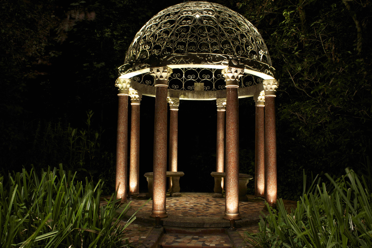 Exterior Hardscape Lighting - Light Visuals Projects