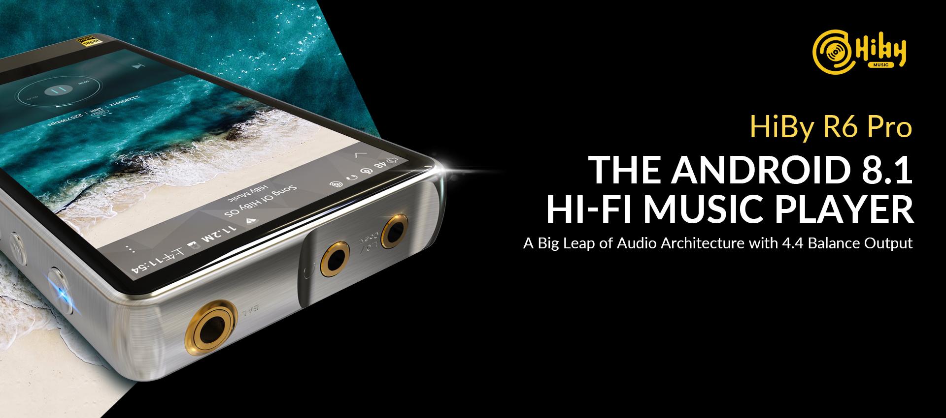 Hiby R6 Pro HI-FI MUSIC PLAYER : Sound Proof Bros