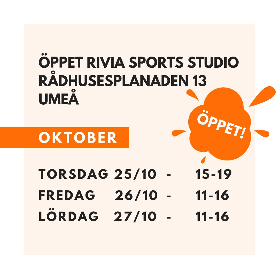 Öppettider Rivia Sports Umeå