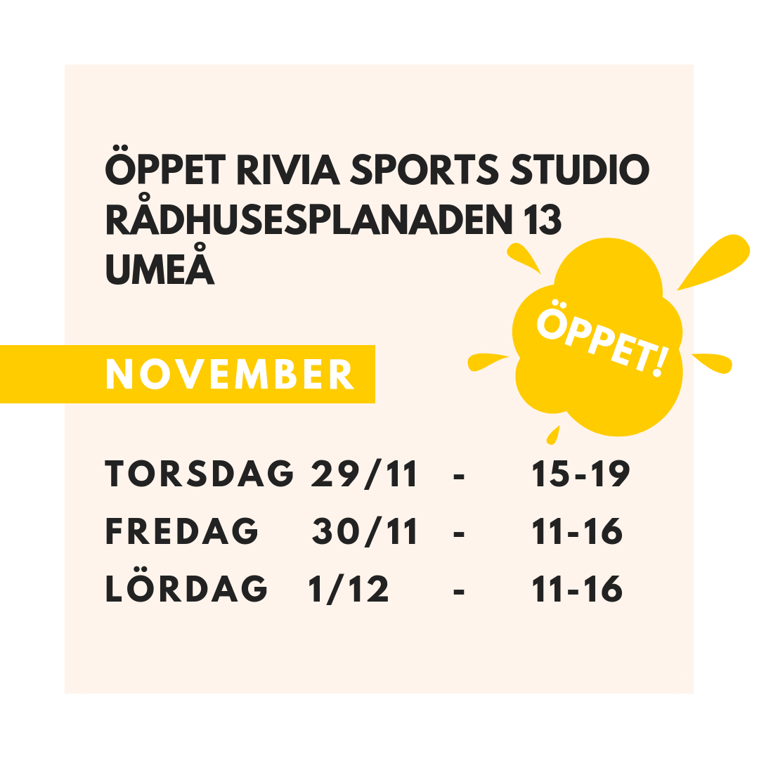 Rivia Sports Umeå Öppettider