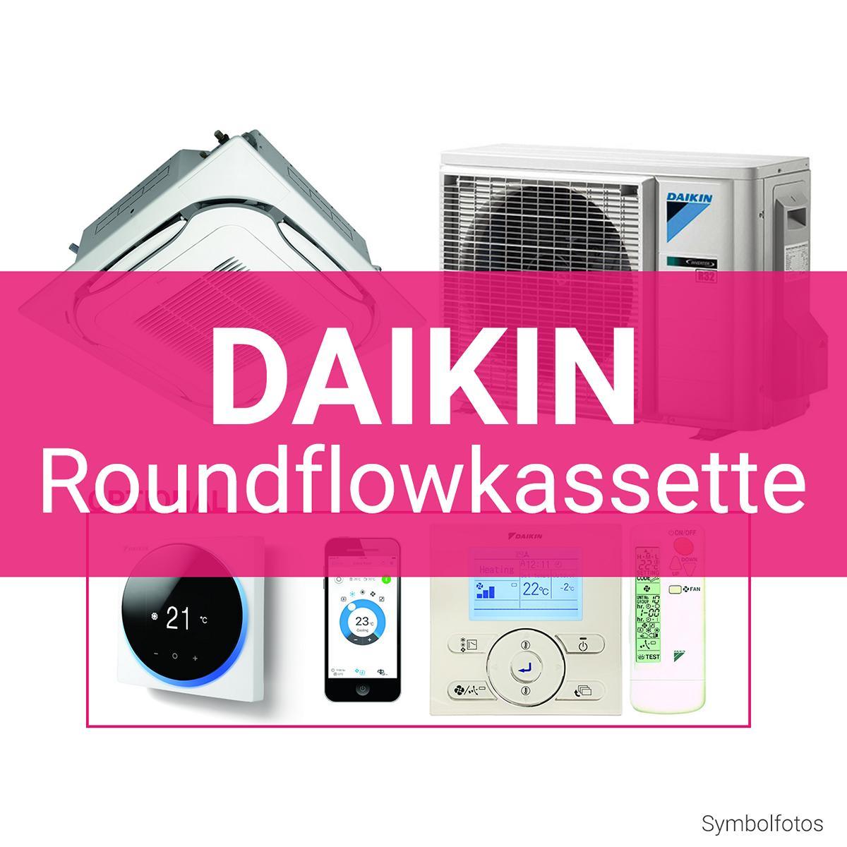 Daikin Roundflow Kassettengerät R32