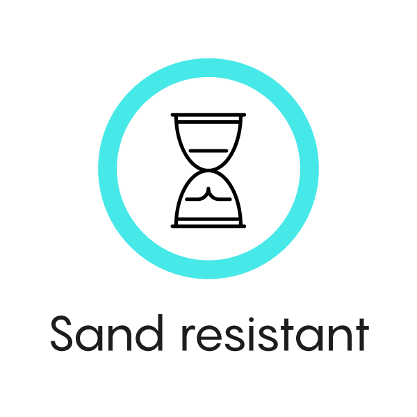 Sand resistant