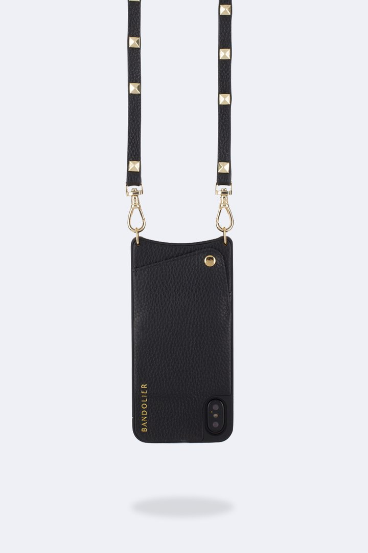 Bandolier Sarah Pebbled leather cross-body iPhone Case