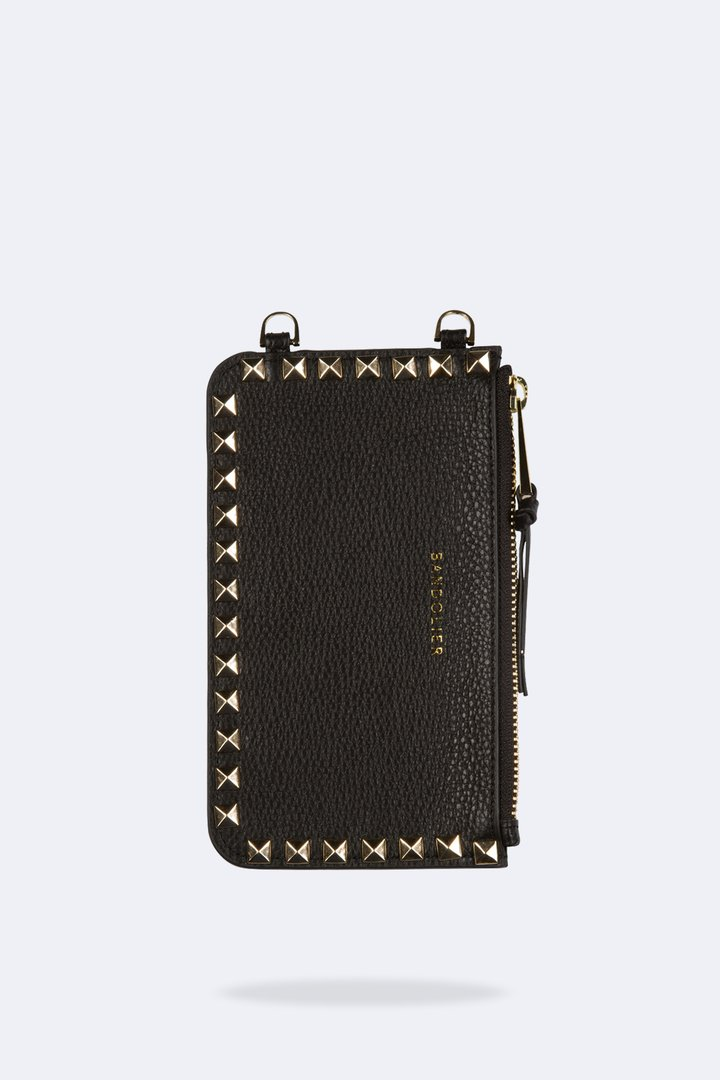Bandolier Sarah Pebbled leather iPhone Pou