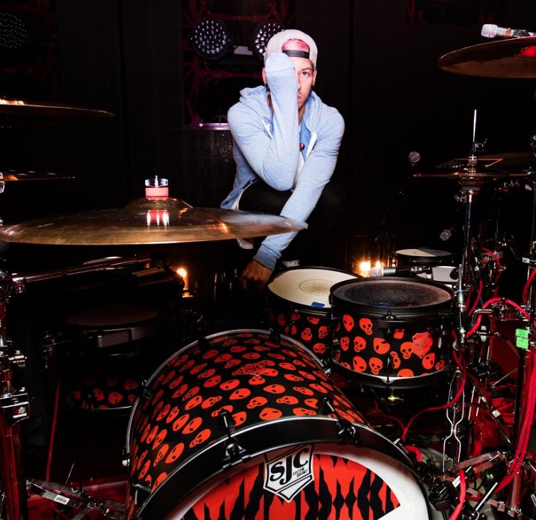 Josh Dun - Twenty One Pilots – SJC Custom Drums