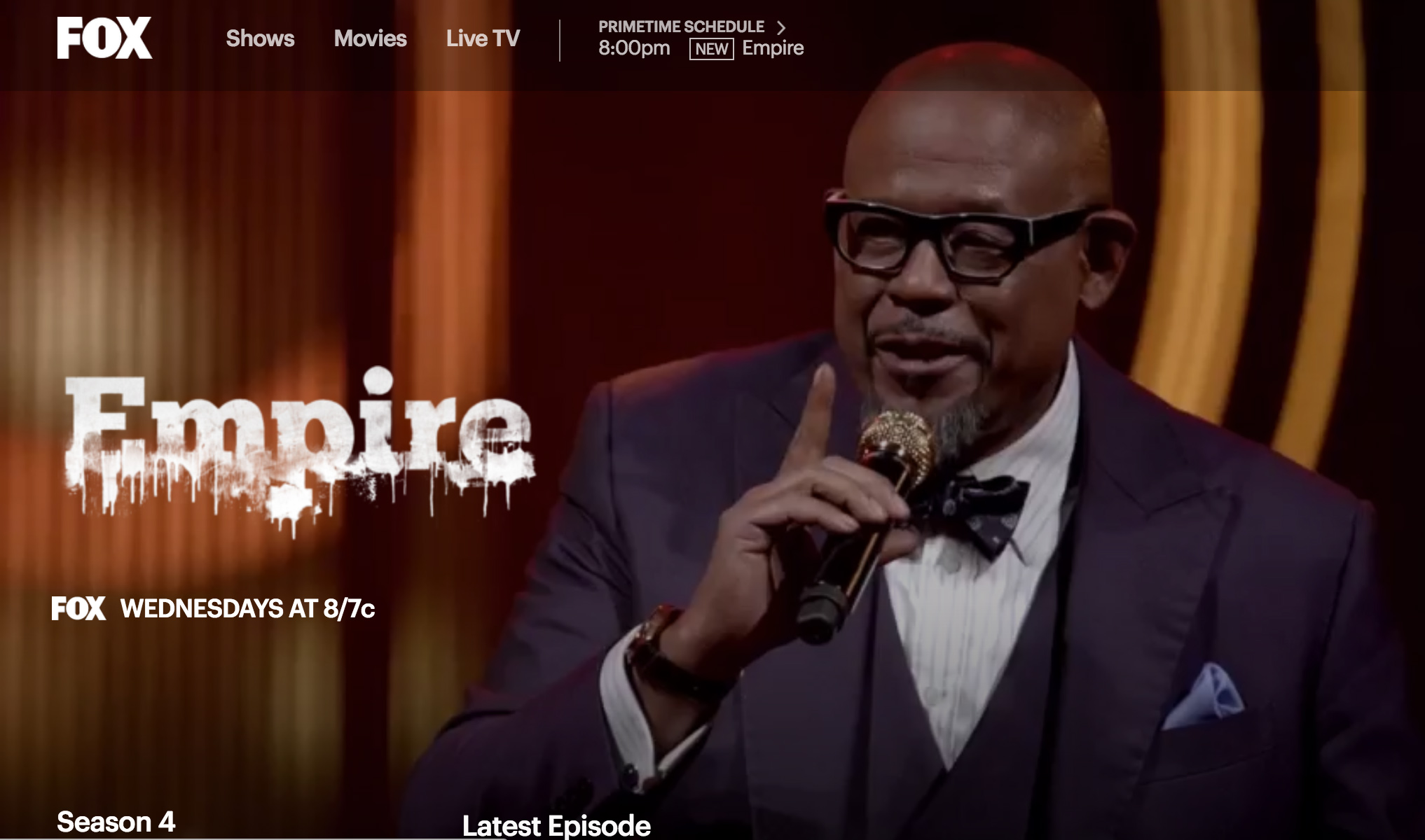 empire tv show suit