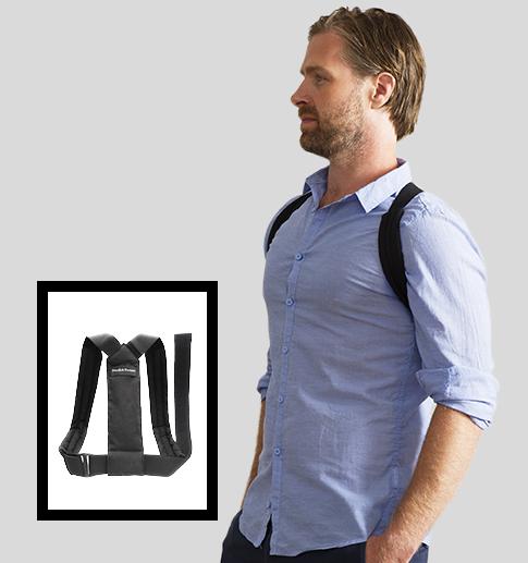 Swedish Posture Flexi shoulder support for better posture.