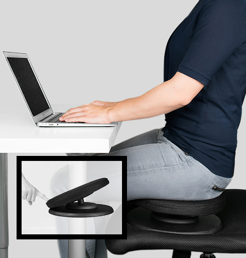 Swedish Posture Balance Core Trainer for better posture and an abdominal workout.