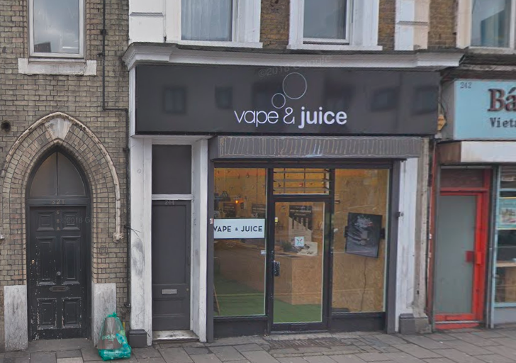vape and juice hackney shop local ecigs
