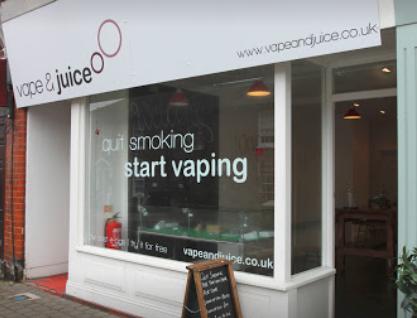 Vape and Juice Ecig Shop Newmarket Suffolk