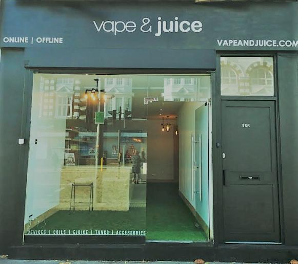 Vape and Juice Ecig Shop elephant and castle