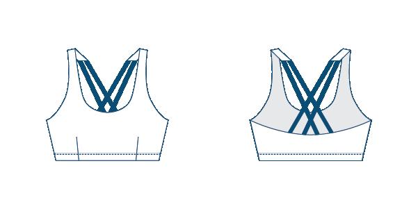 Namiko Seeker surf bikini top