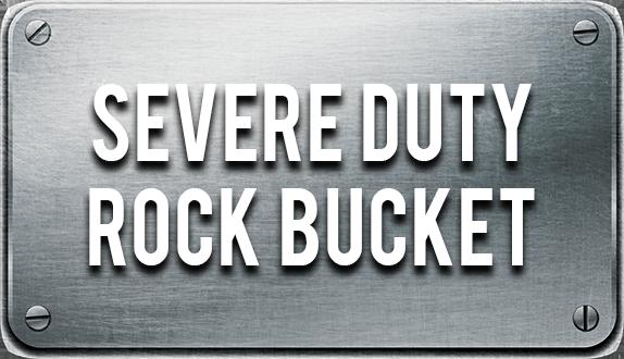 Skeleton Bucket Rock Bucket
