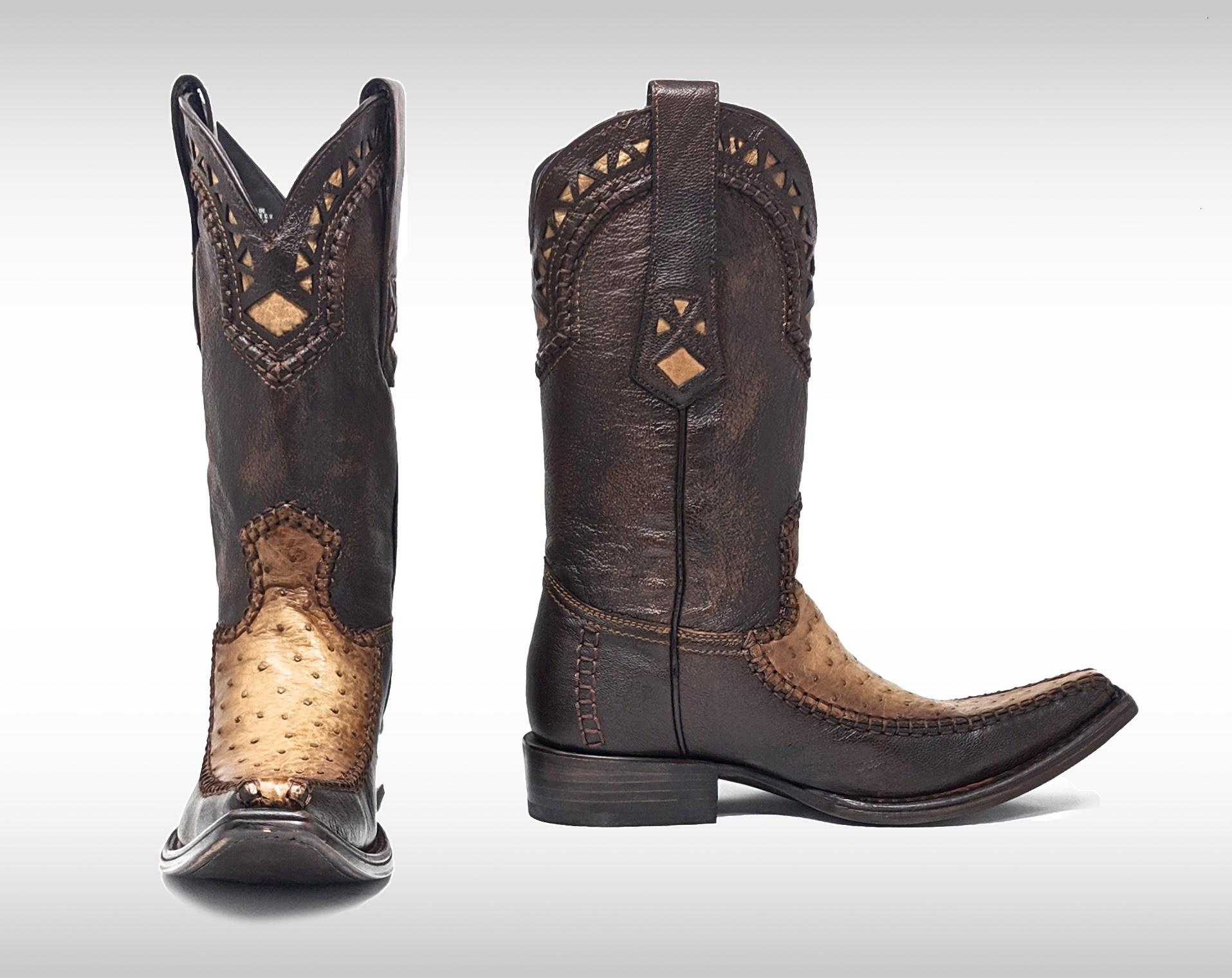 cuadra ostrich boots