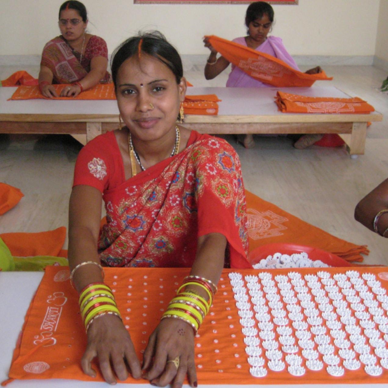 Faire Produktion in Indien