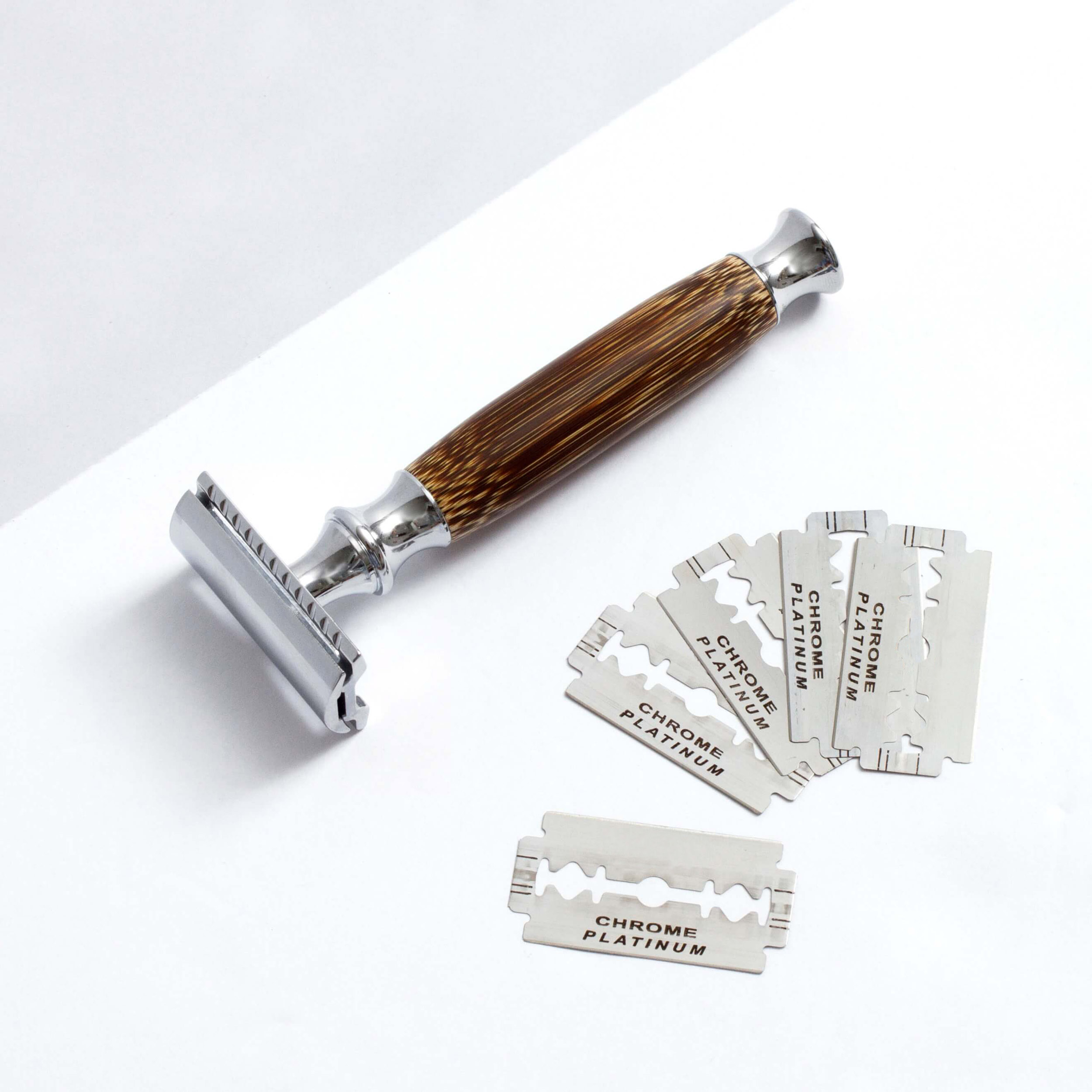 HOT TO USE A SAFETY RAZOR AND BLADE DISPOSAL