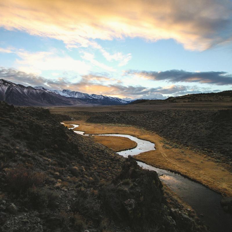 Sierra Nevada river