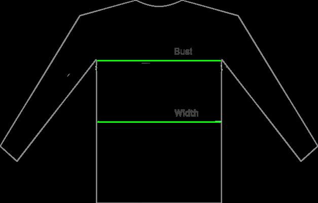 size-chart-sweatshirt hoodie oversized
