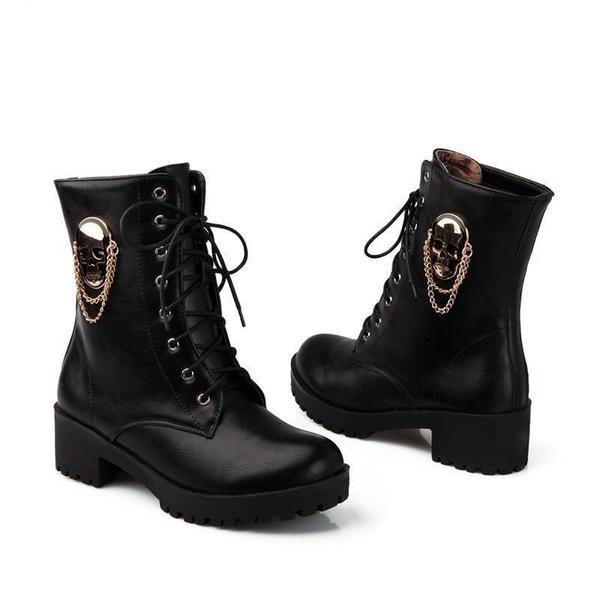 Shorty Biker Boots