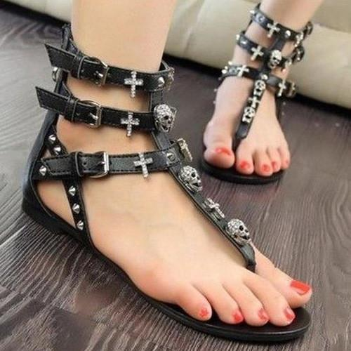 gothic sandal