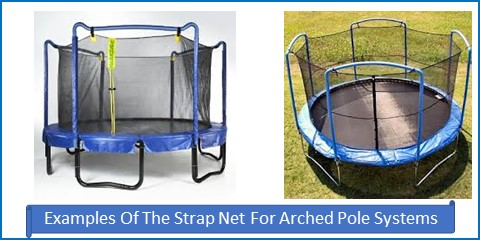 Strap Net And Pad Kits For Arched Pole Systems