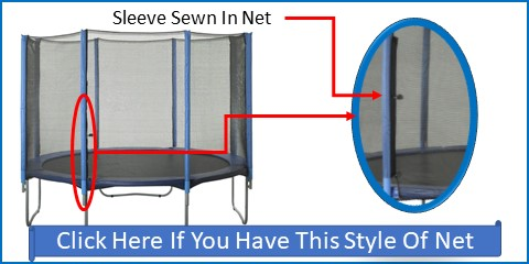 Sleeve Net For Straight Pole Systems