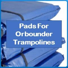 Frame Pads For Orbounder Trampolines