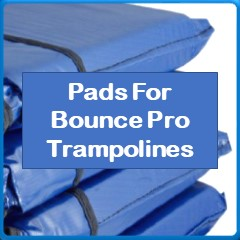 Frame Pads For BOUNCE PRO Trampolines