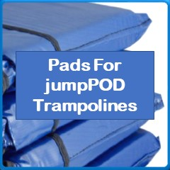 Frame Pads For JumpPod Trampolines