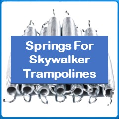 springs for Skywalker trampolines
