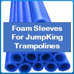 Foam Sleeves For Jumpking Trampolines
