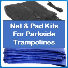 Net And Pad Kits For Parkside Trampolines