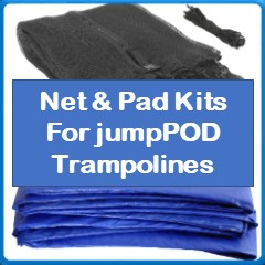 Net And Pad Kits For JumpPod Trampolines