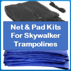 Net And Pad Kits For Skywalker Trampolines
