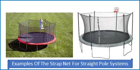 Strap Net For Straight Poles