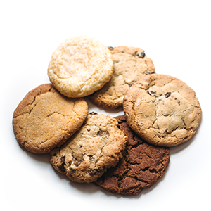 photo of small package assorted cookies
