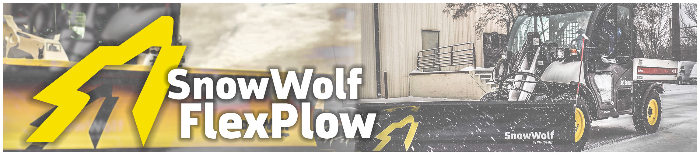 SnowWolf Flex Plow Snow Removal