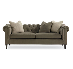 Sofas with curved lines