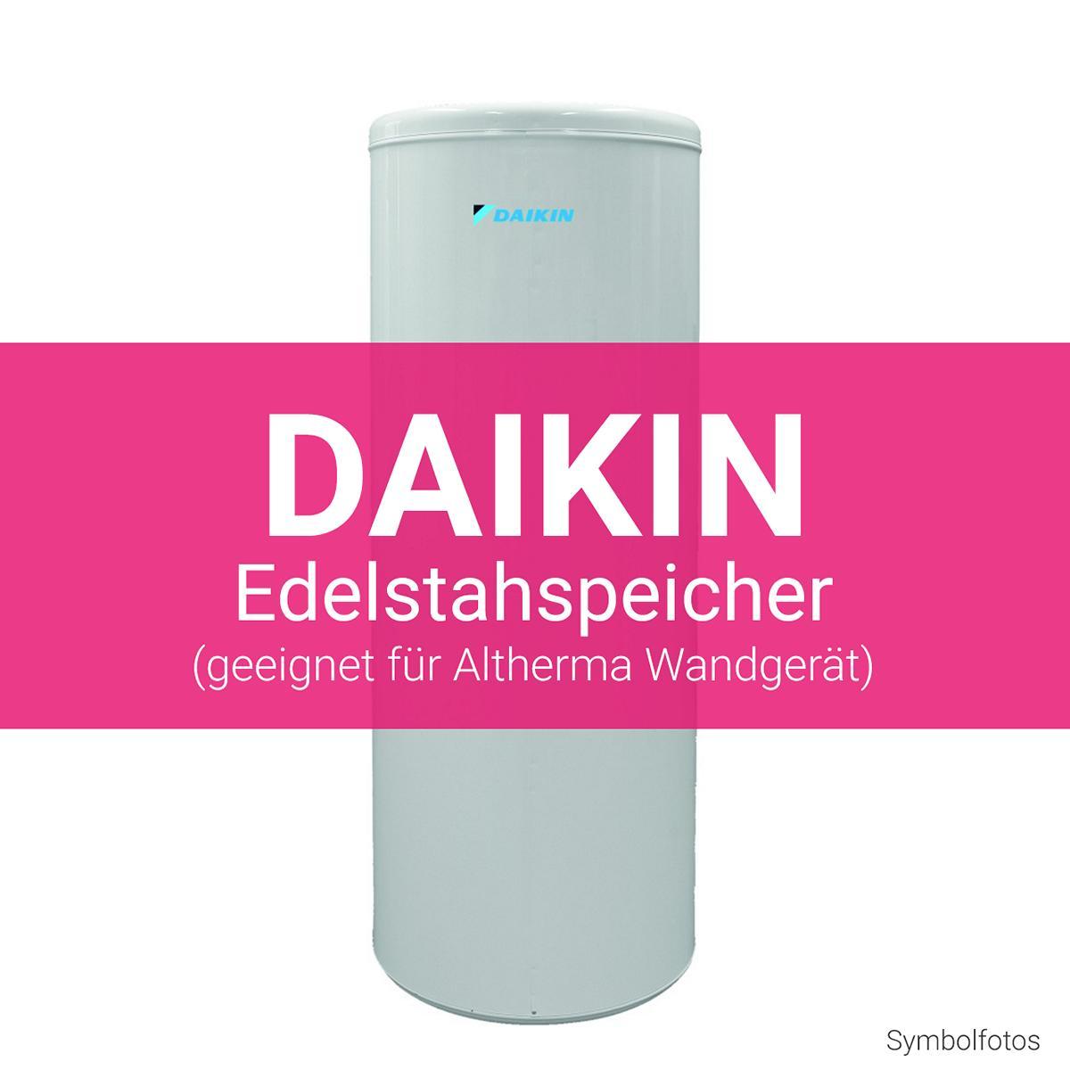 Daikin Edelstahlspeicher Altherma Wandgerät