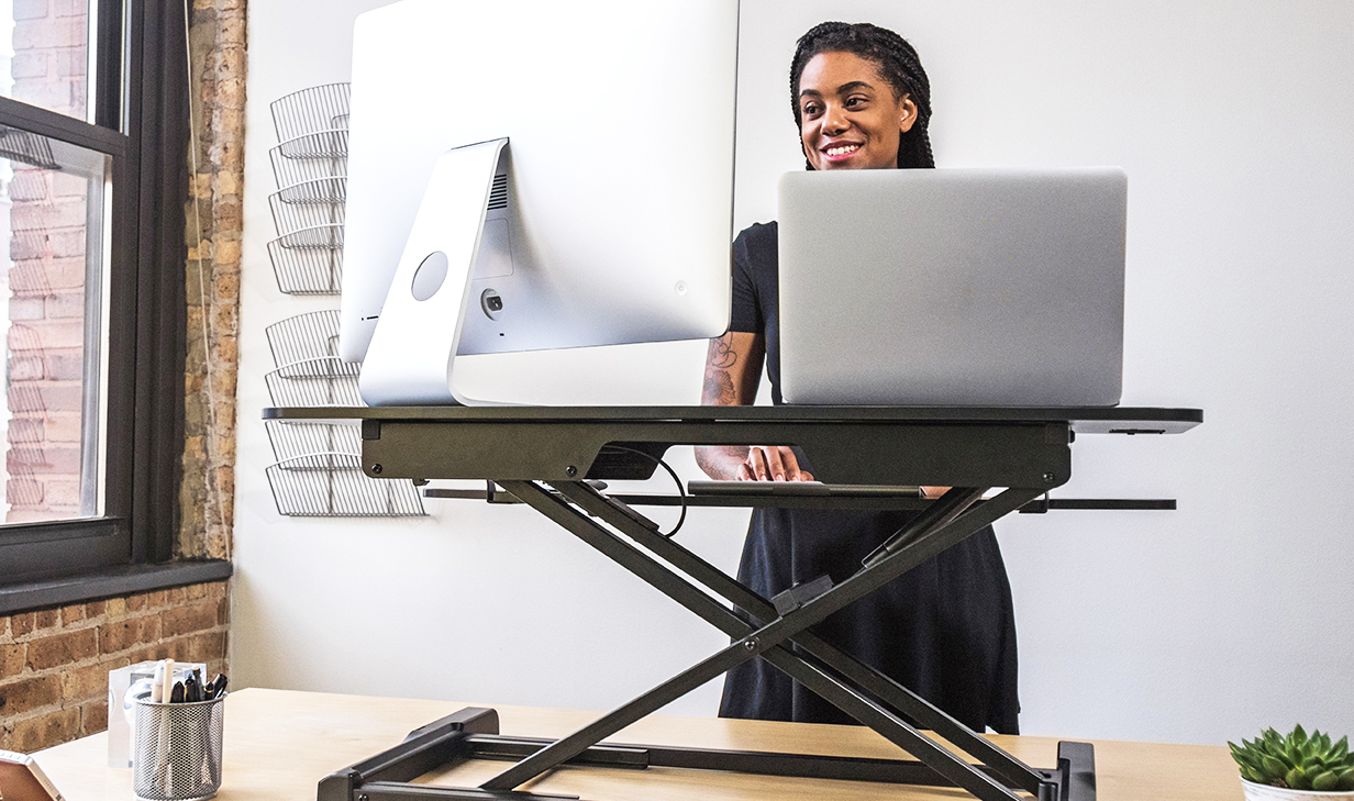 Perfect Standing Desk for Any Office - FlexPro Hero 37